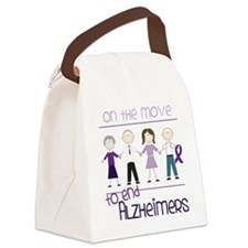 On The Move Canvas Lunch Bag