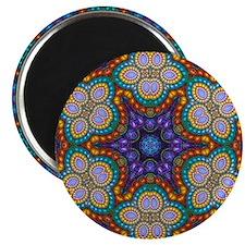 Fractal Spiral Beads Kaleidoscope Blanket Magnet