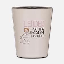 Leader Shot Glass