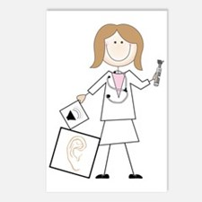 Female Audiologist Postcards (Package of 8)