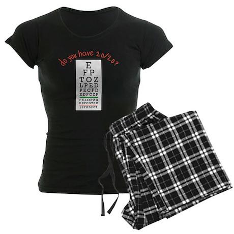 20/20 Women's Dark Pajamas