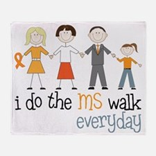 The MS Walk Throw Blanket