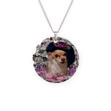 Chi Chi the Chihuahua in Flo Necklace