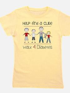 Walk 4 Diabetes Girl's Tee