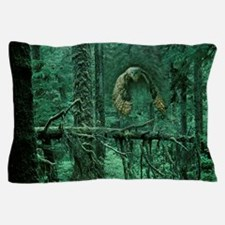 Green Woods Owl Pillow Case