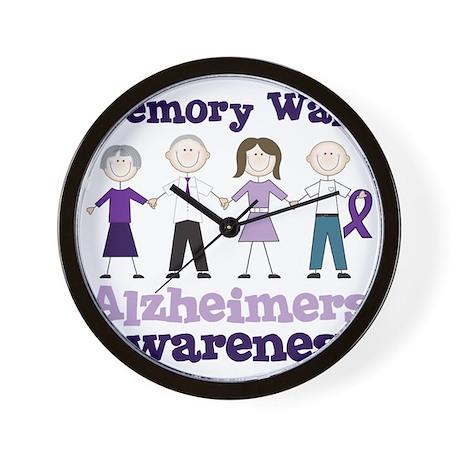 Memory Walk Wall Clock