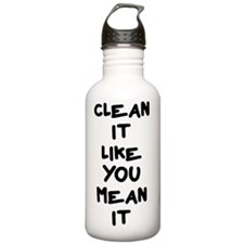 Mean Clean Water Bottle