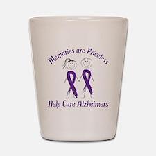 Help Cure Alzheimers Shot Glass