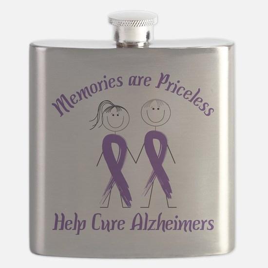 Help Cure Alzheimers Flask