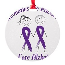 Help Cure Alzheimers Ornament