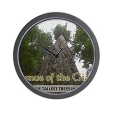 Founder's Tree Wide -  Avenue of the Gi Wall Clock