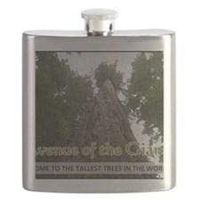 Founder's Tree Wide -  Avenue of the Giants Flask