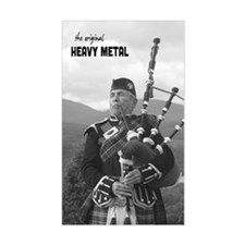 Heavy Metal Bagpipes iPhone 3G Decal