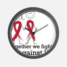 Together We Fight Wall Clock
