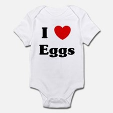 I love Eggs Infant Bodysuit