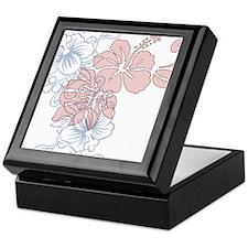 Hibiscus Keepsake Box
