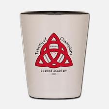 TCCA Logo Black Shot Glass