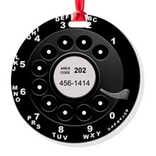 Rotary Dial Phone -T Ornament