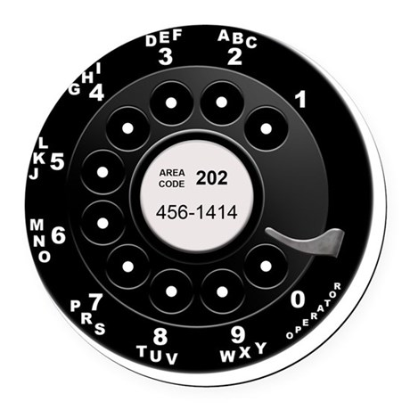 how to call cra from rotary phone