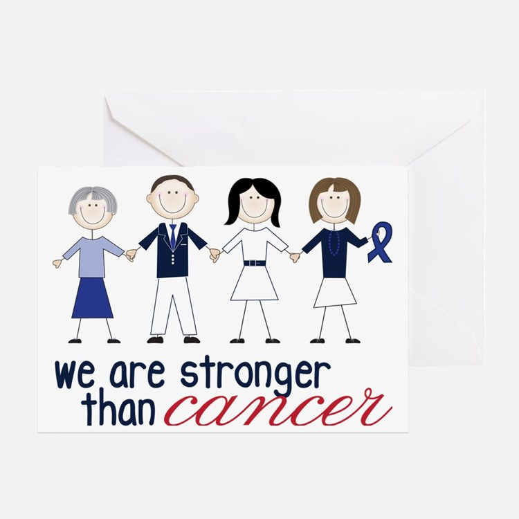 We Are Stronger Greeting Card