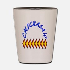 CHICKASAW TRIBE Shot Glass
