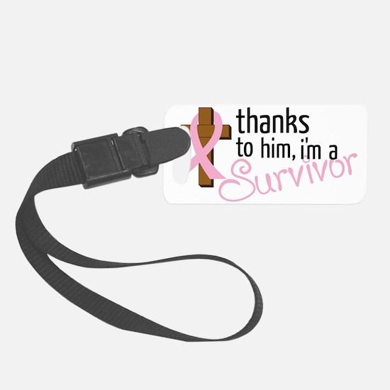 Im A Survivor Luggage Tag