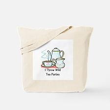 Wild Tea Parties Tote Bag