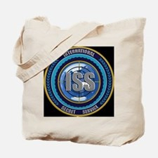 ISS Seal (black) Tote Bag