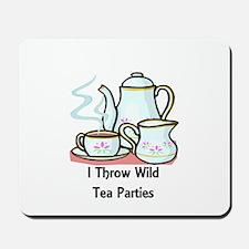 Wild Tea Parties Mousepad