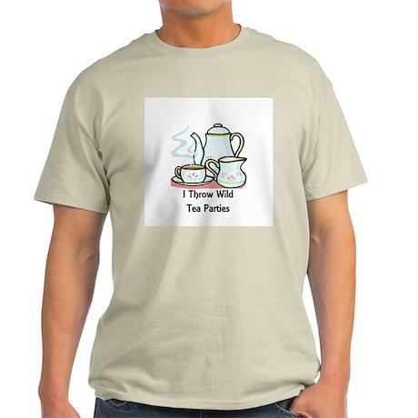 Wild Tea Parties Light T-Shirt