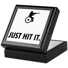 Wheelchair-Shooting-ABQ1 Keepsake Box