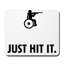 Wheelchair-Shooting-ABQ1 Mousepad