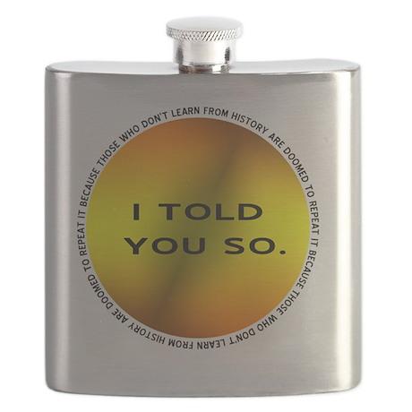 History Repeats Flask