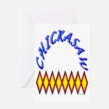 CHICKASAW TRIBE Greeting Card