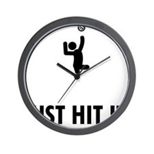 Sitting-Volleyball-ABQ1 Wall Clock