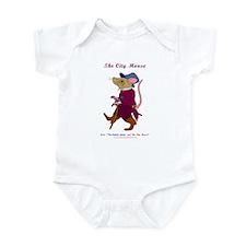 City Mouse Infant Bodysuit
