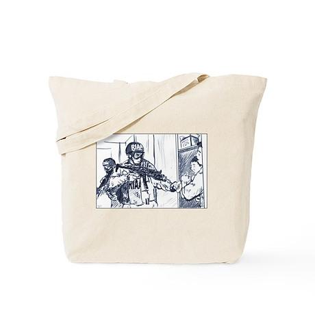 RIAA Raid Tote Bag