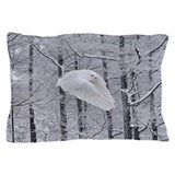 Snowy owl Pillow Cases