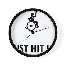 Wheelchair-Rugby-ABQ1 Wall Clock