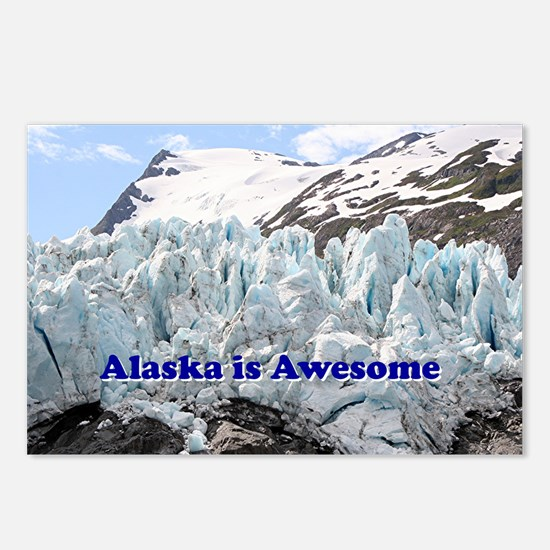 Alaska is Awesome: Portag Postcards (Package of 8)