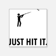 """Skeet-Shooting-ABQ1 Square Sticker 3"""" x 3"""""""