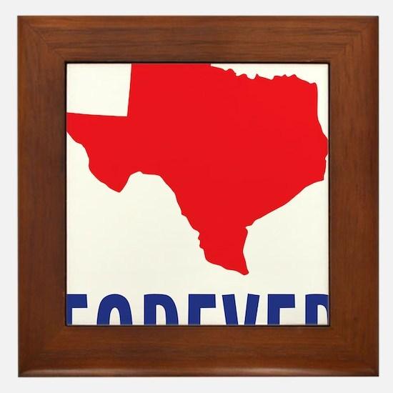 Texas Forever Framed Tile