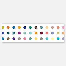 Spots and Dots Bumper Bumper Sticker