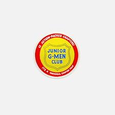 Junior G-Men Mini Button