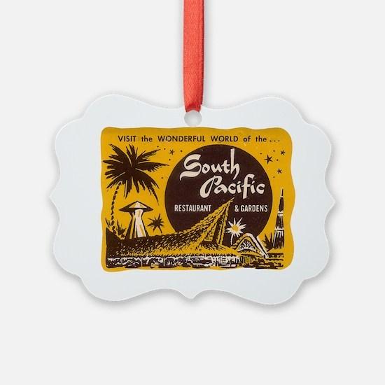 South Pacific Tiki Bar Ornament