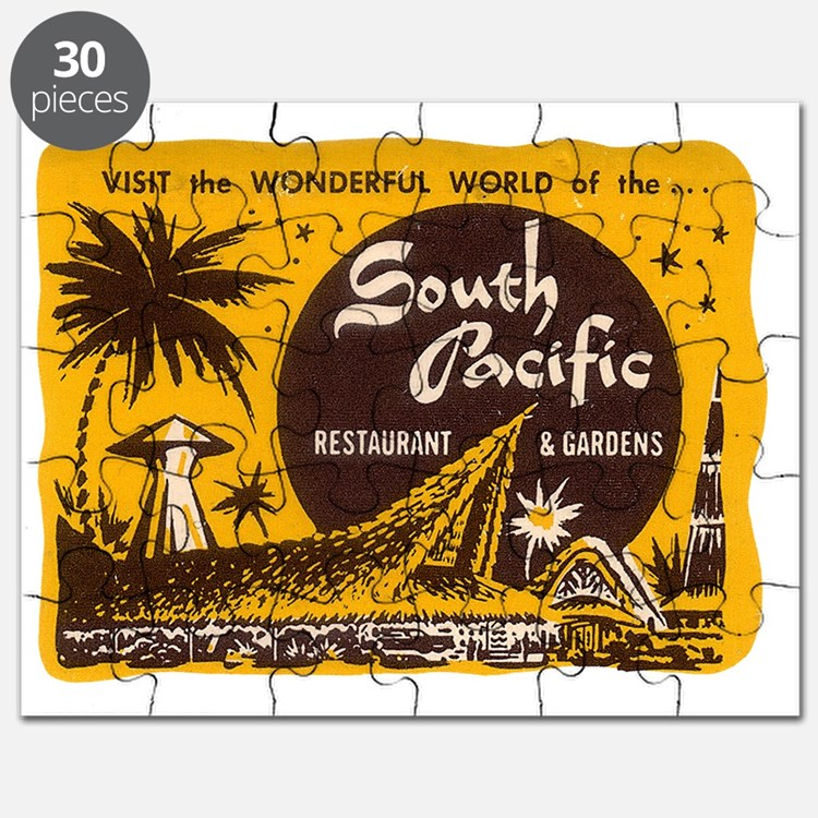 South Pacific Tiki Bar Puzzle