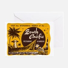 South Pacific Tiki Bar Greeting Card