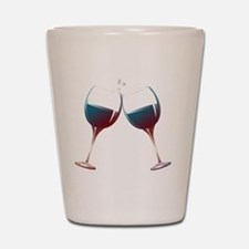 Clinking Wine Glasses Shot Glass