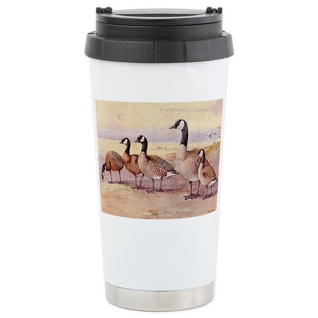 Canada Geese Stainless Steel Travel Mug