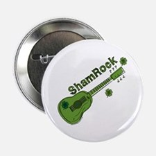 "Sham Rock 2.25"" Button"